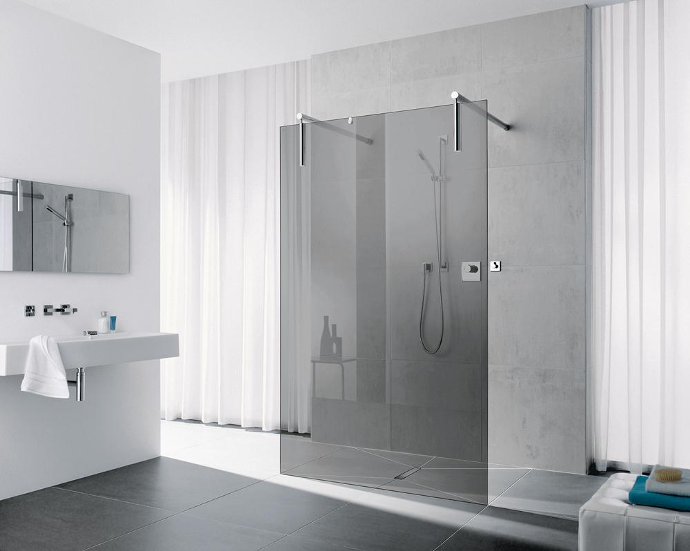 Rinnenablauf Dusche : Generationen?bergreifendes Duschen f?r jedermann: Handwerkermarke