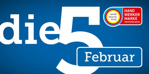 Unsere Top 5 im Februar